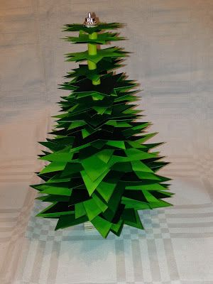Ideas from the forest Paper christmas tree Tema Gran Pinterest