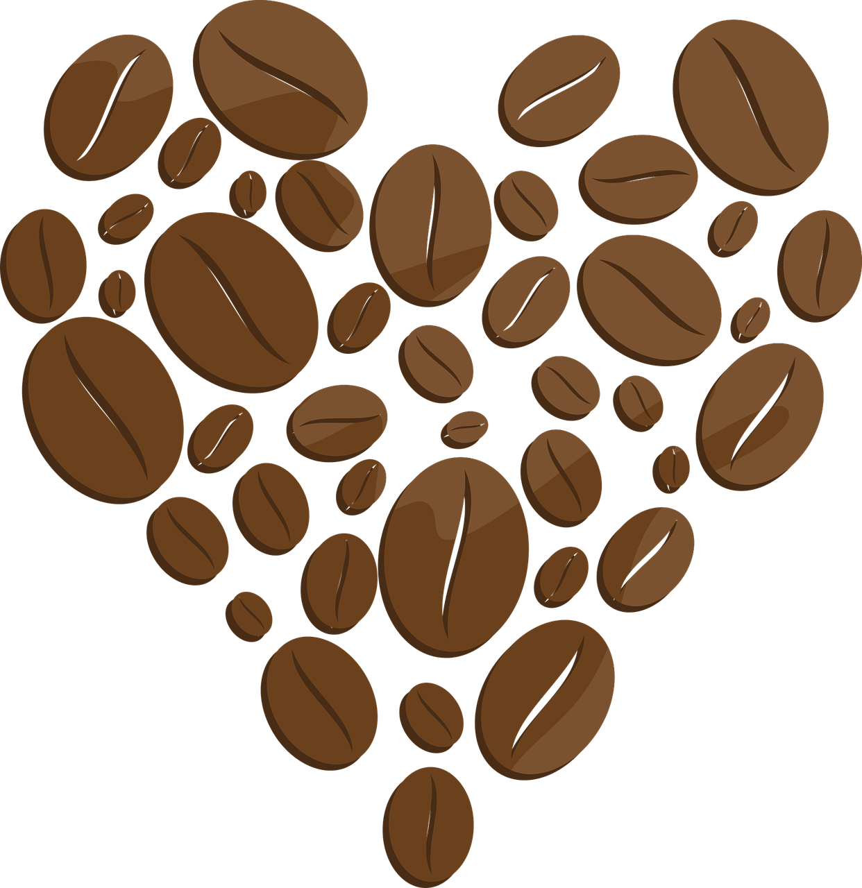 Coffee Coffee Coffe Beans Heart Drawing Coffee Coffee Coffe Beans Heart Drawing Beans Blended Coffee Coffee Lover