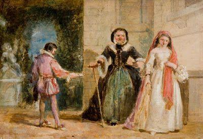 William Knight Keeling - A Scene from Shakespeare