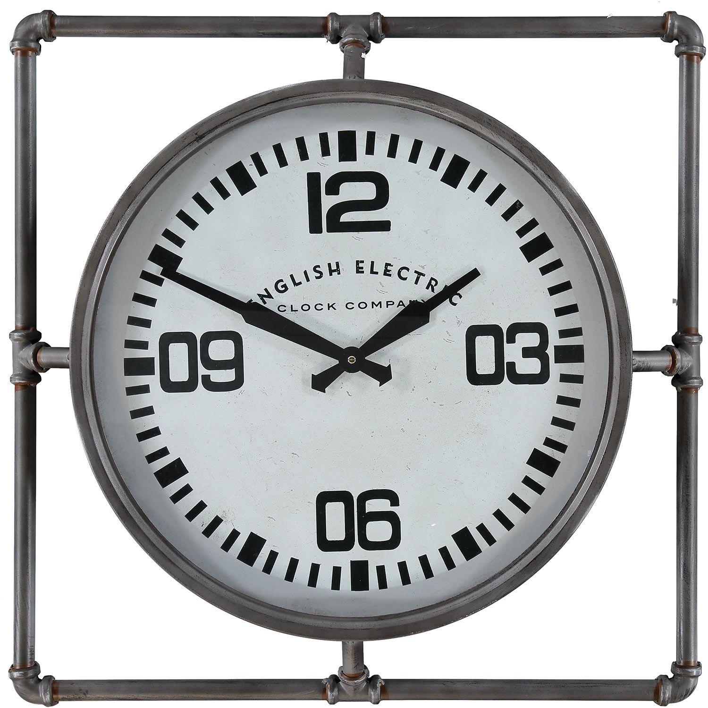 Grey Distressed Wall Clock - TK Maxx | Tkmaxx | Pinterest | Wall ...