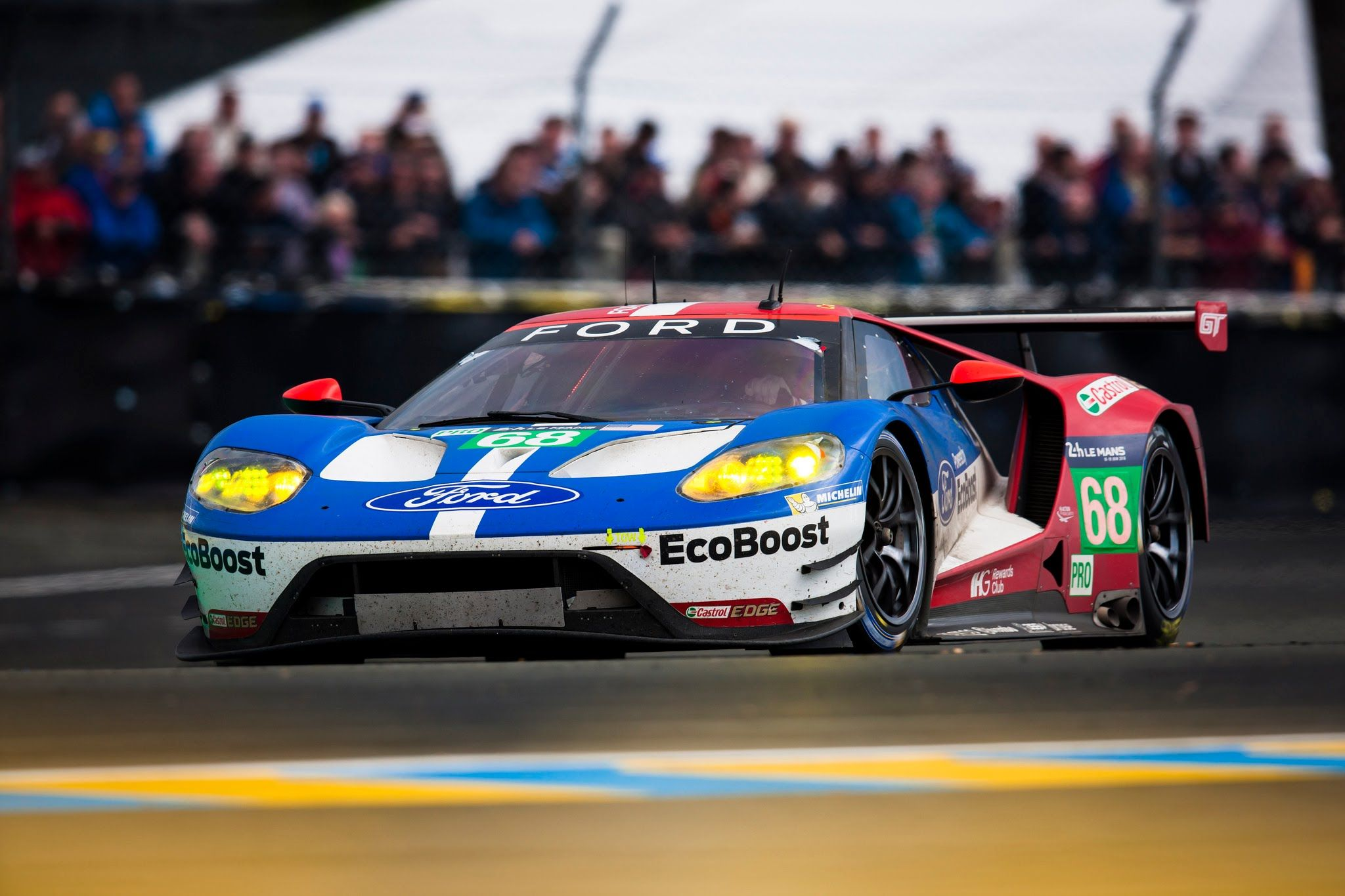 Incredible 360 Degree Vr Lap Of Le Mans In Winning Fordgt 68
