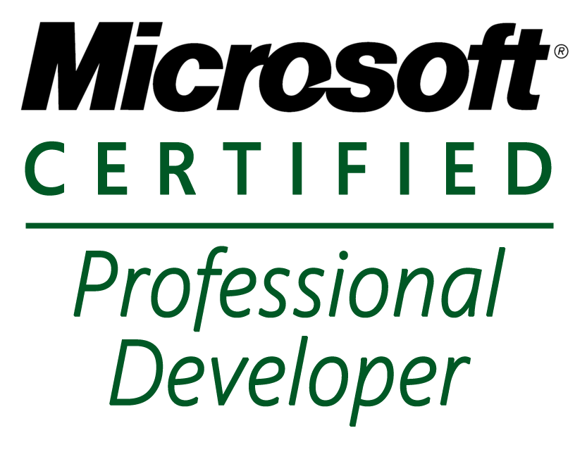 Certification Microsoft Certified Professional Developer Mcpd