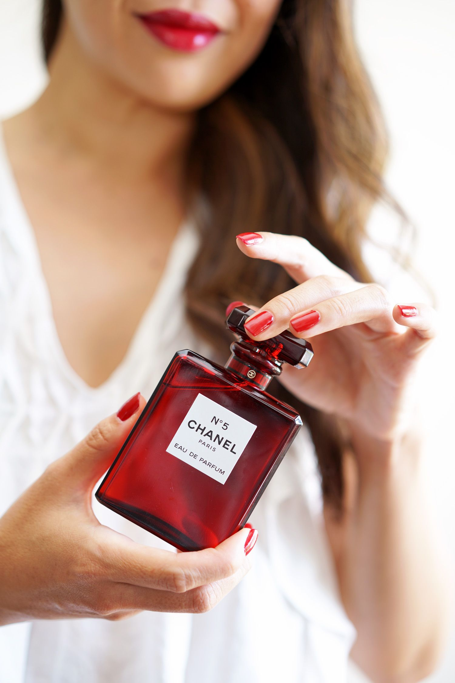 Chanel No 5 Eau De Parfum Red Limited Edition Holiday 2018 The