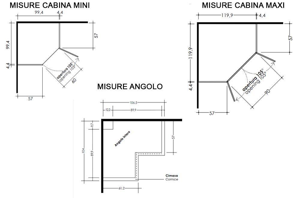Armadi Ad Angolo Per Camerette Misure.Misure Armadi Angolari Nel 2020 Armadio Angolare Armadio Cabina Armadio