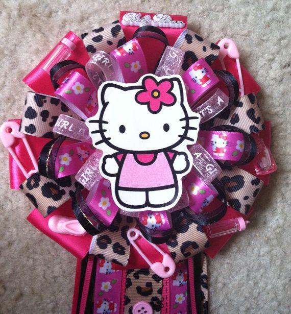Mums Baby Shower: Hello Kitty Baby Shower Mum On Etsy, $19.00