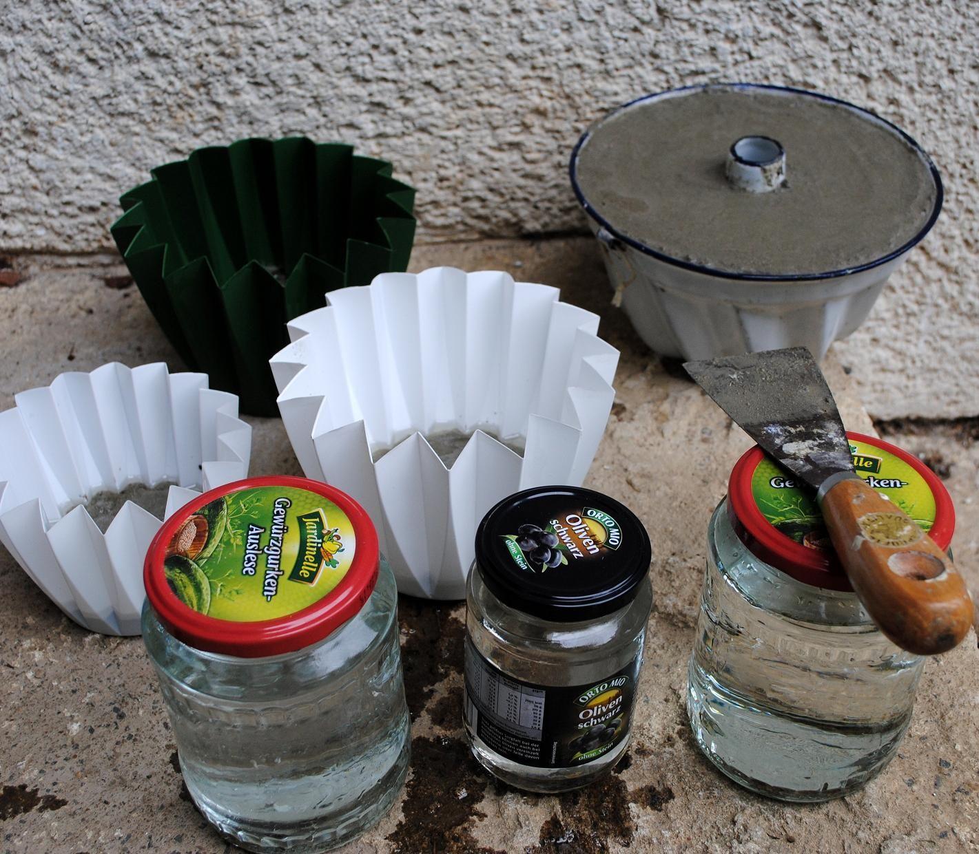 Gartendeko-Blog: Selbstgemachtes aus Zement | Beton | Pinterest ...