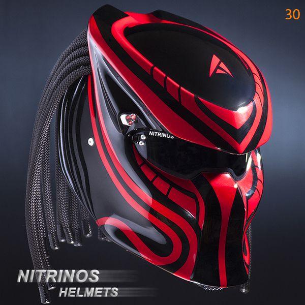 Options Airbrushing Helmet Predator Nitrinos Cascos