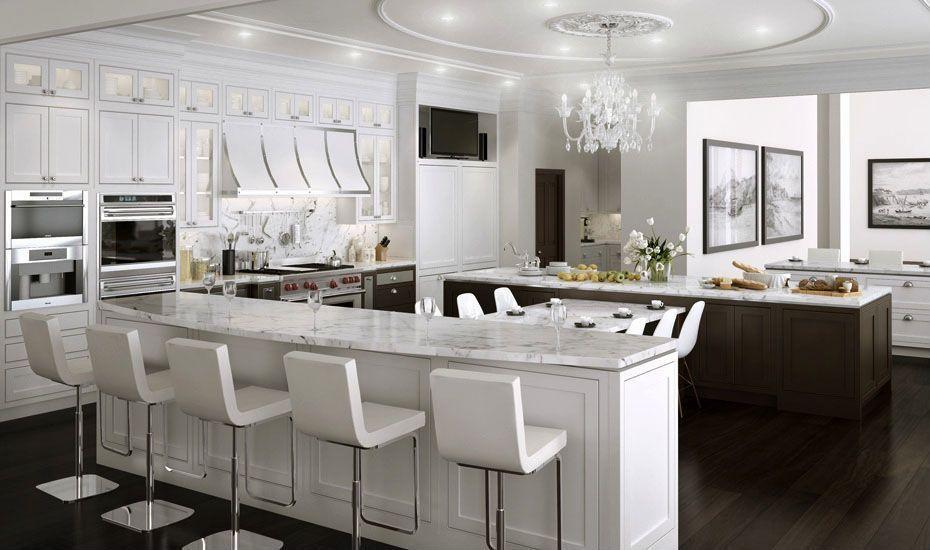 idee cuisine luxe blanche 4 life deco home pinterest id e cuisine luxe et cuisiner. Black Bedroom Furniture Sets. Home Design Ideas