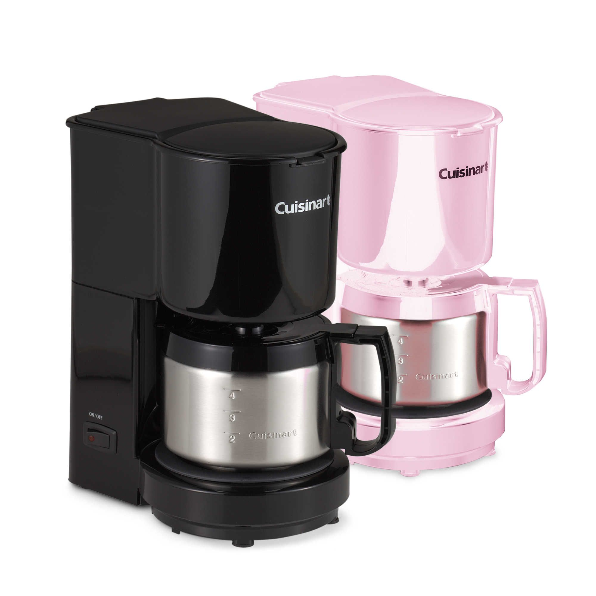 Cuisinart® 4-Cup Coffee Maker with Stainless Steel Carafe | 4 cup coffee maker, Coffee, Coffee maker
