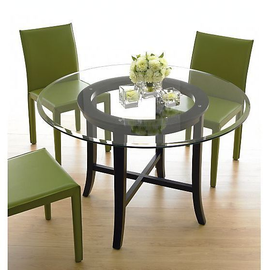 Table 42 Round Glass Dining Set Best Inch Kitchen Sets Glass