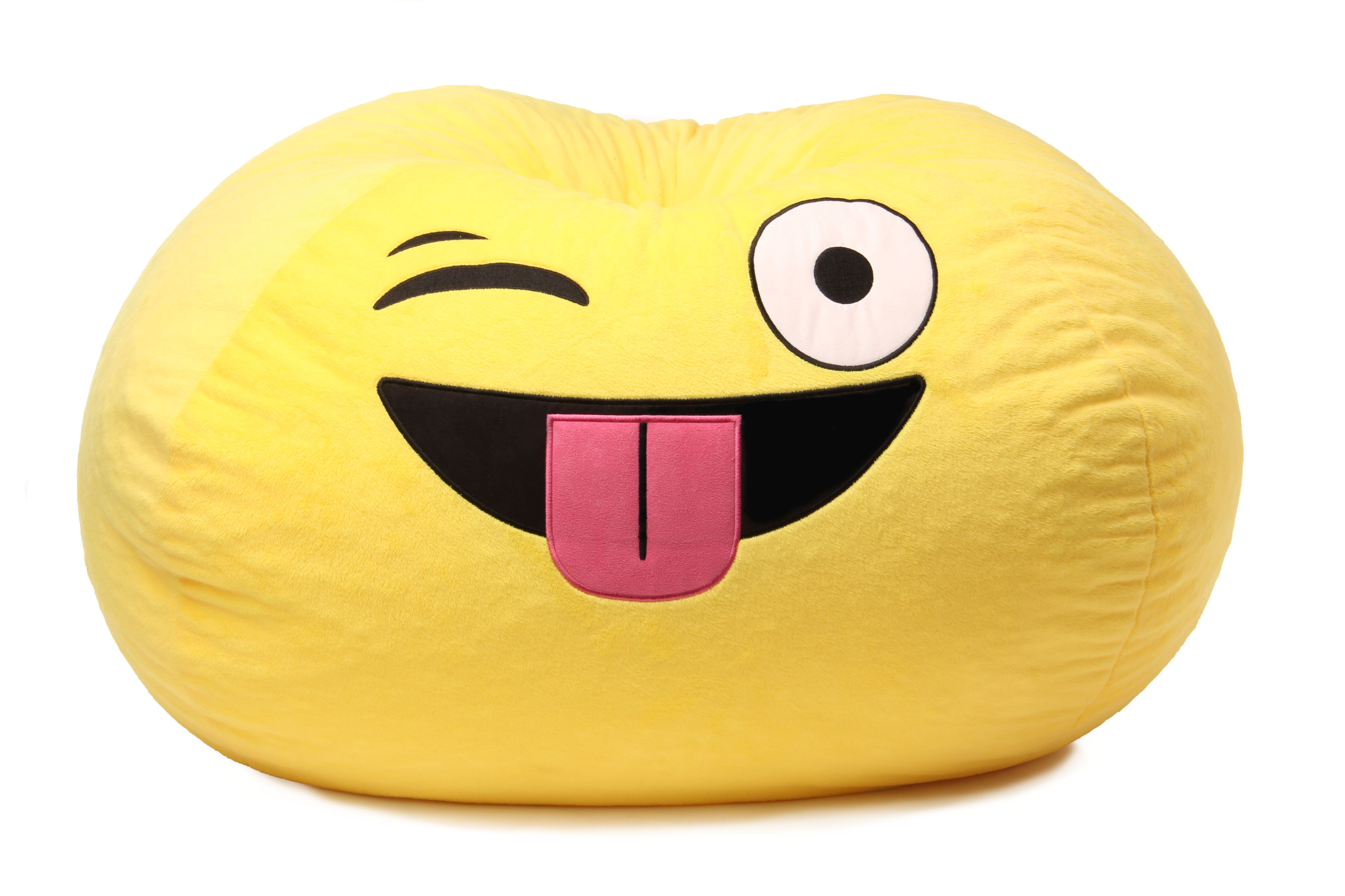 Gomoji Bean Bag Char Multiple Patterns 28 X 28 X 14 Walmart Com Emoji Bean Bag Kids Bean Bags Bean Bag