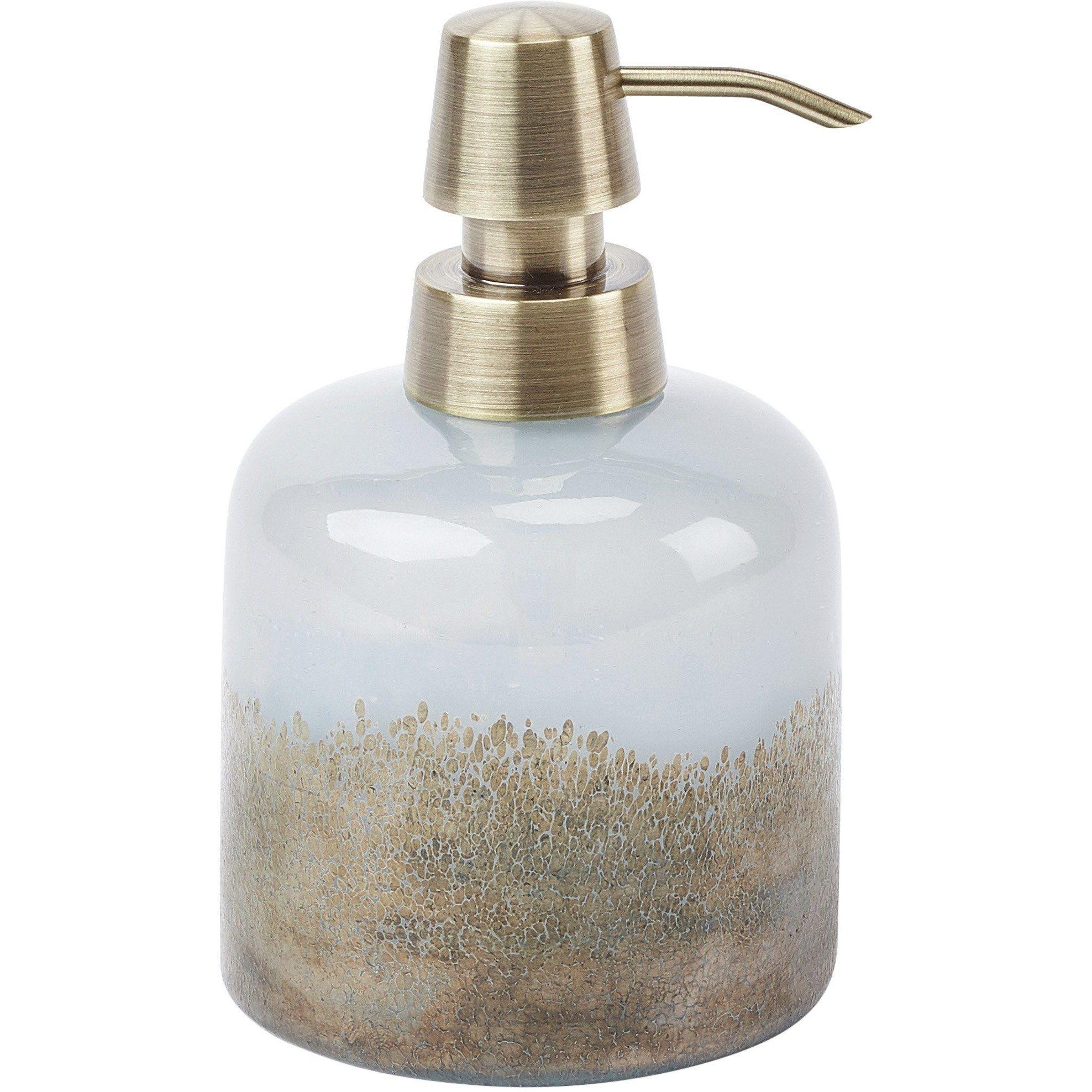 Fyra Round Bathroom Or Kitchen Pump Liquid Soap Lotion Dispenser