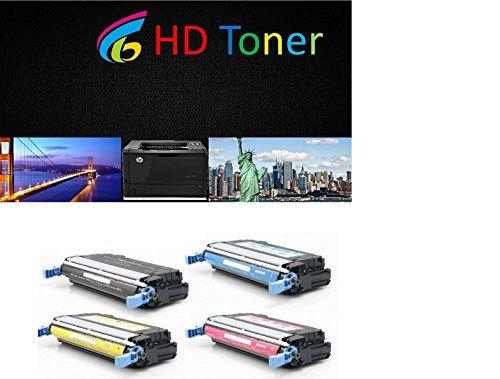 HD© Remanufactured Laser Toner Cartridges for HP Color