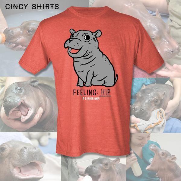 Fiona The Hippo T Shirt I love Baby Fiona!!