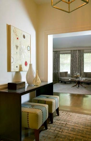 Foyer #design | Daher Interior Design