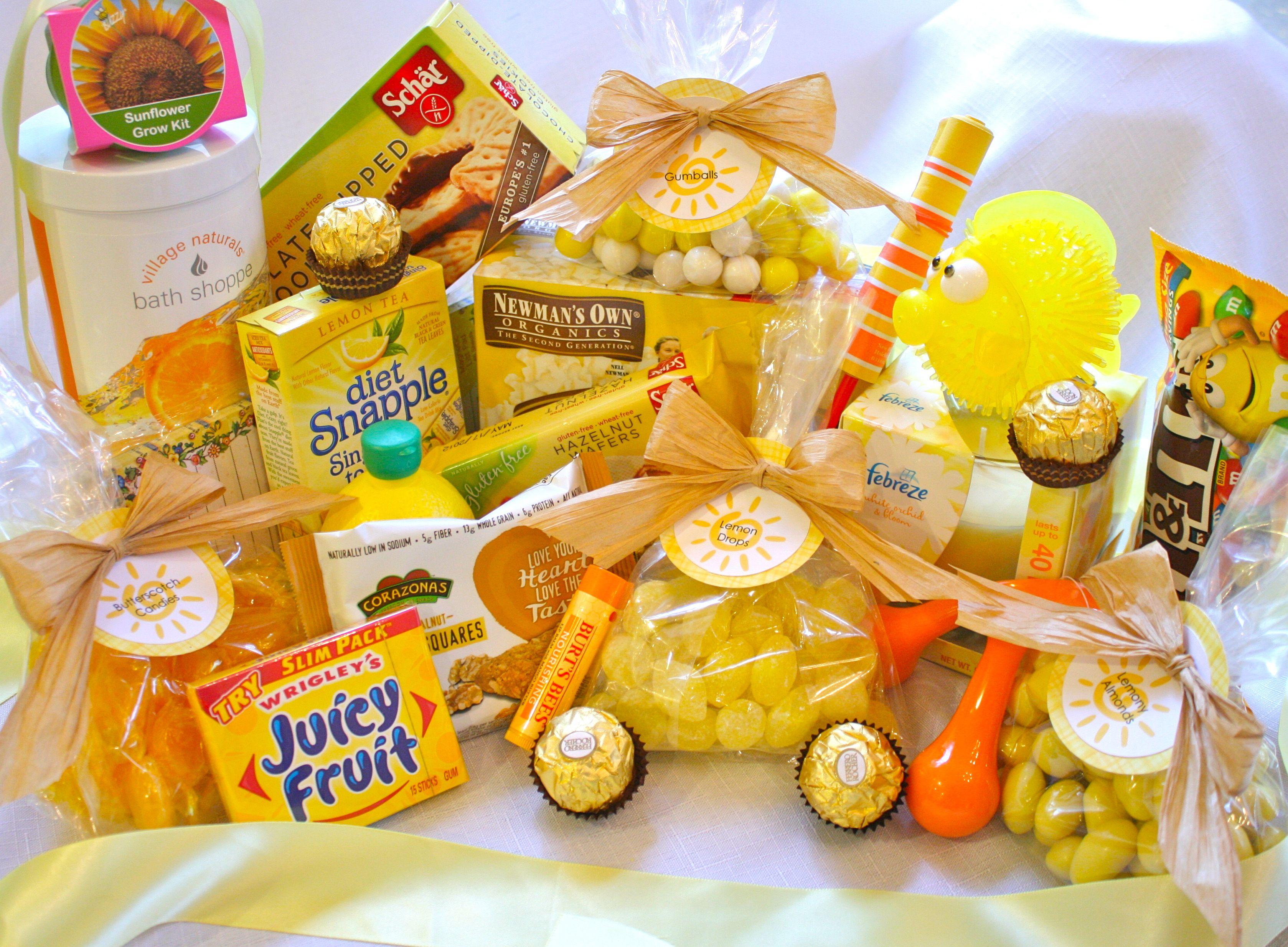 Box of sunshine gift ideas so happy lemon love