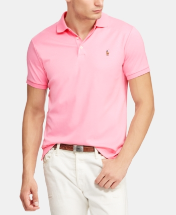 Ralph 2019 Custom Polo Touch Slim Cotton Men Lauren Soft In Fit jL5R4A