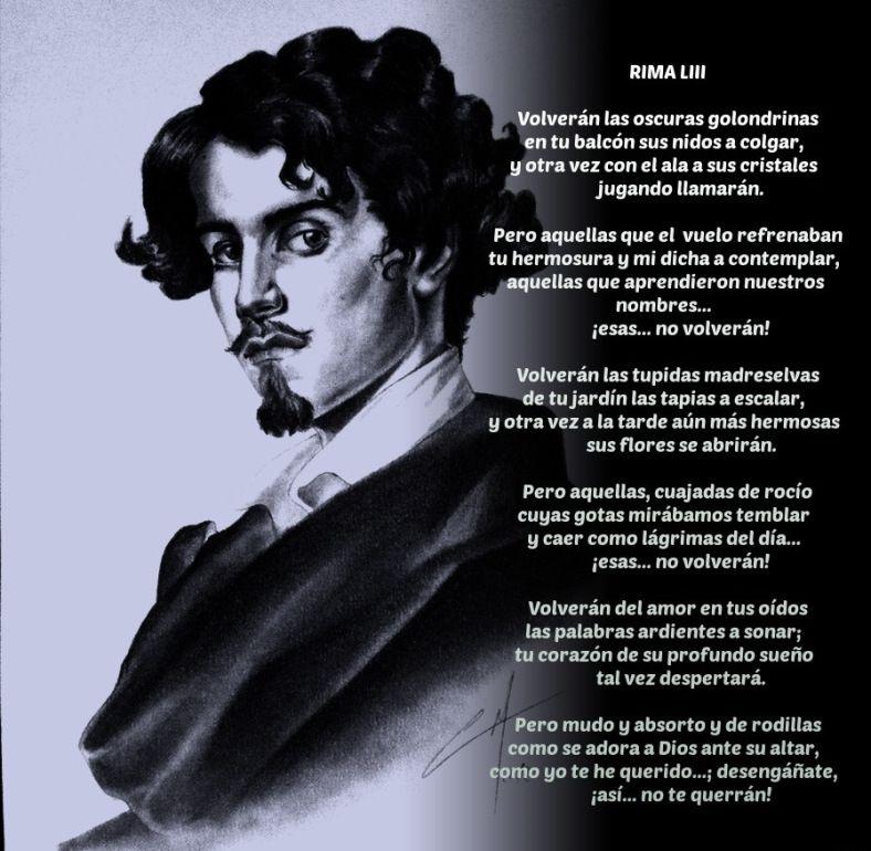 8 Ideas De Gustavo Adolfo Bécquer Poemas Poesía Becquer Poesia