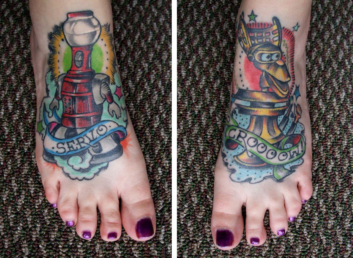 Pin by amanda wunderlich on tattoos foot tattoos blue