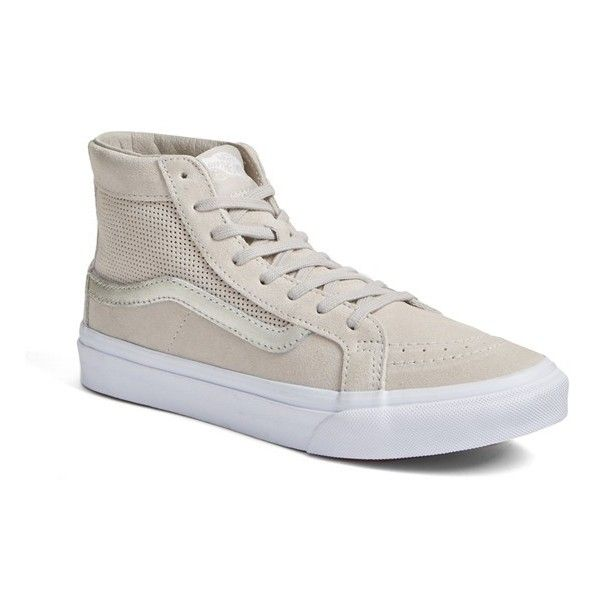 b095322f863a6a Women s Vans  Sk8-Hi Slim  Sneaker ( 75) ❤ liked on Polyvore ...
