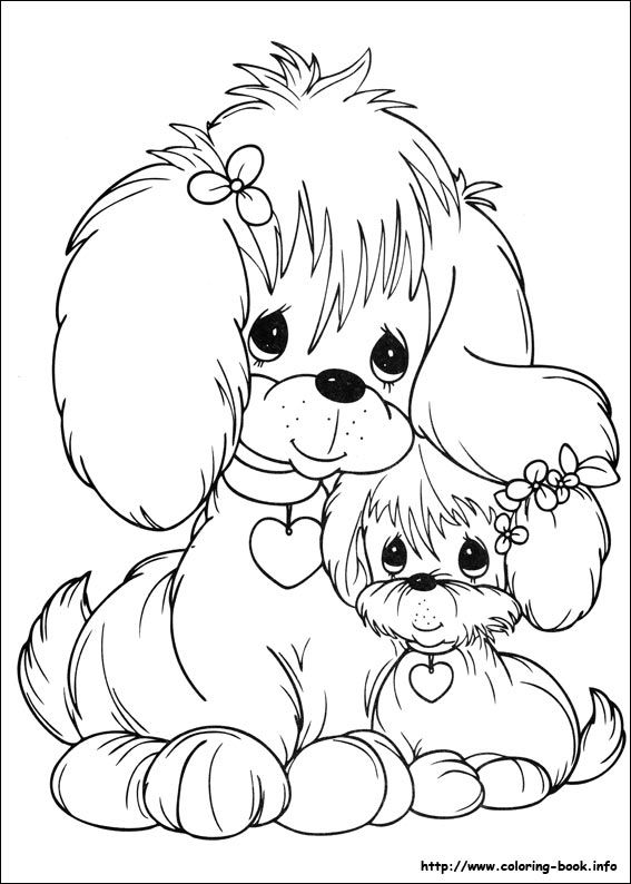 Precious Moments coloring picture  Printables  Pinterest
