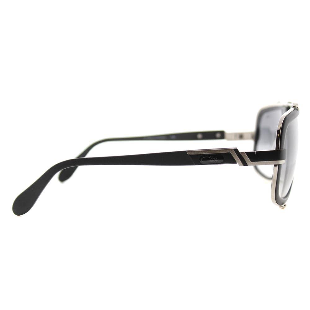 64cfc8358b Shop Cazal Cazal Legends Matte Black Plastic Grey Gradient Lens Aviator  Sunglasses - Free Shipping Today - Overstock.com - 12014642