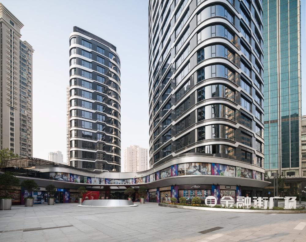 Financial Street (Jing An) Centre - UNStudio on Behance
