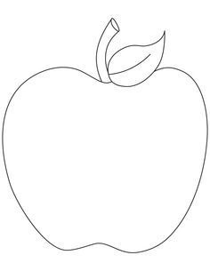 Pin By Maria Alfonzo On Applique Apple Coloring Pages Apple Coloring Coloring Pages To Print
