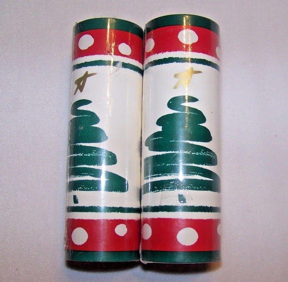 2 Christmas Wallpaper Borders Contemporary Tree Borden Self Stick Removable Christmas Wallpaper Wallpaper Border Christmas Ephemera