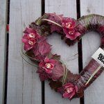 Oxley's Funeral Flowers - Heart wreath