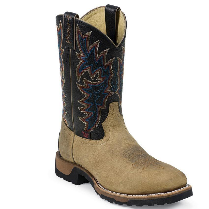 dbe75eed673 Tony Lama Men's TLX Steel Toe Western Work Boots | Boots | Boots ...