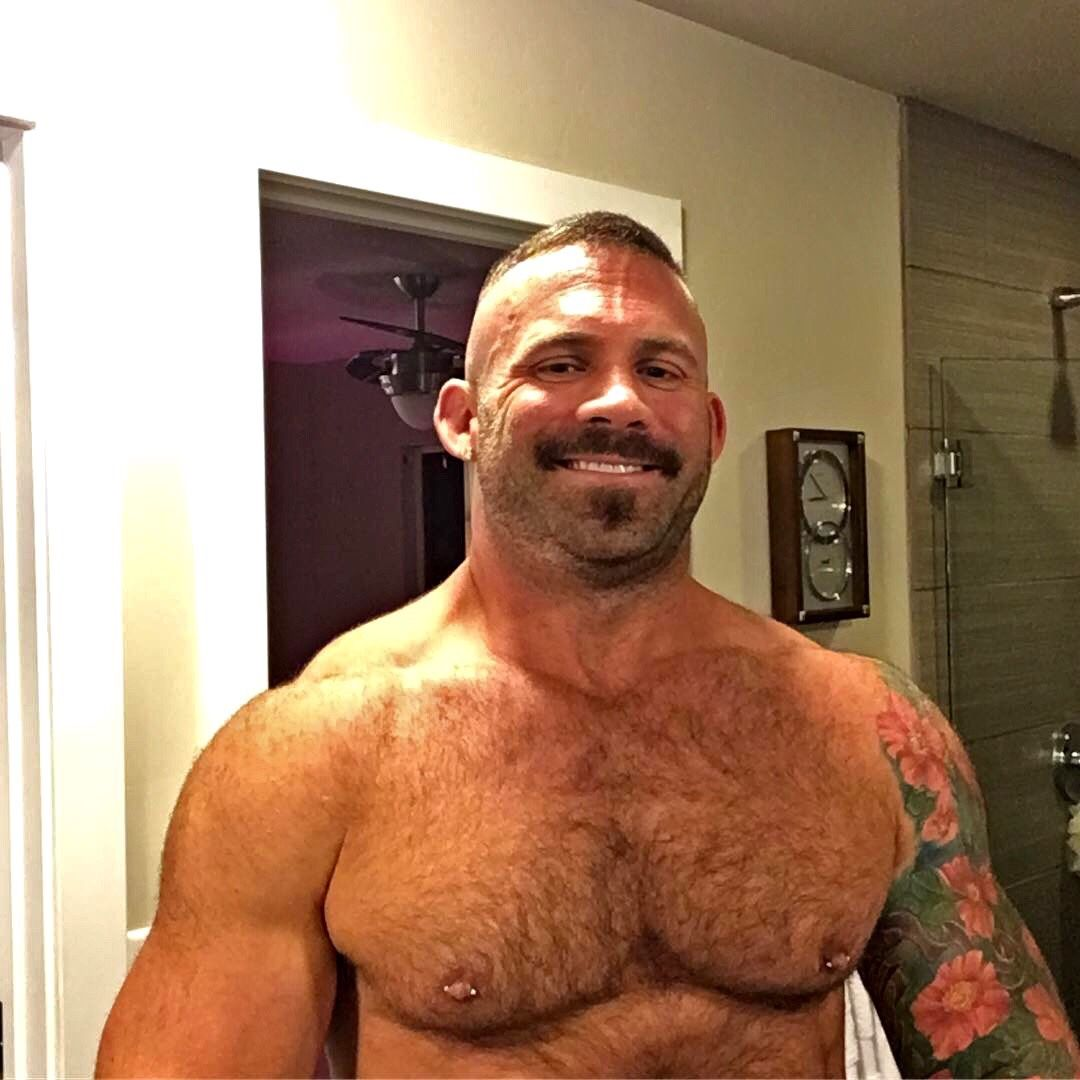 Bears Muscle And Hairy Fellas Photo