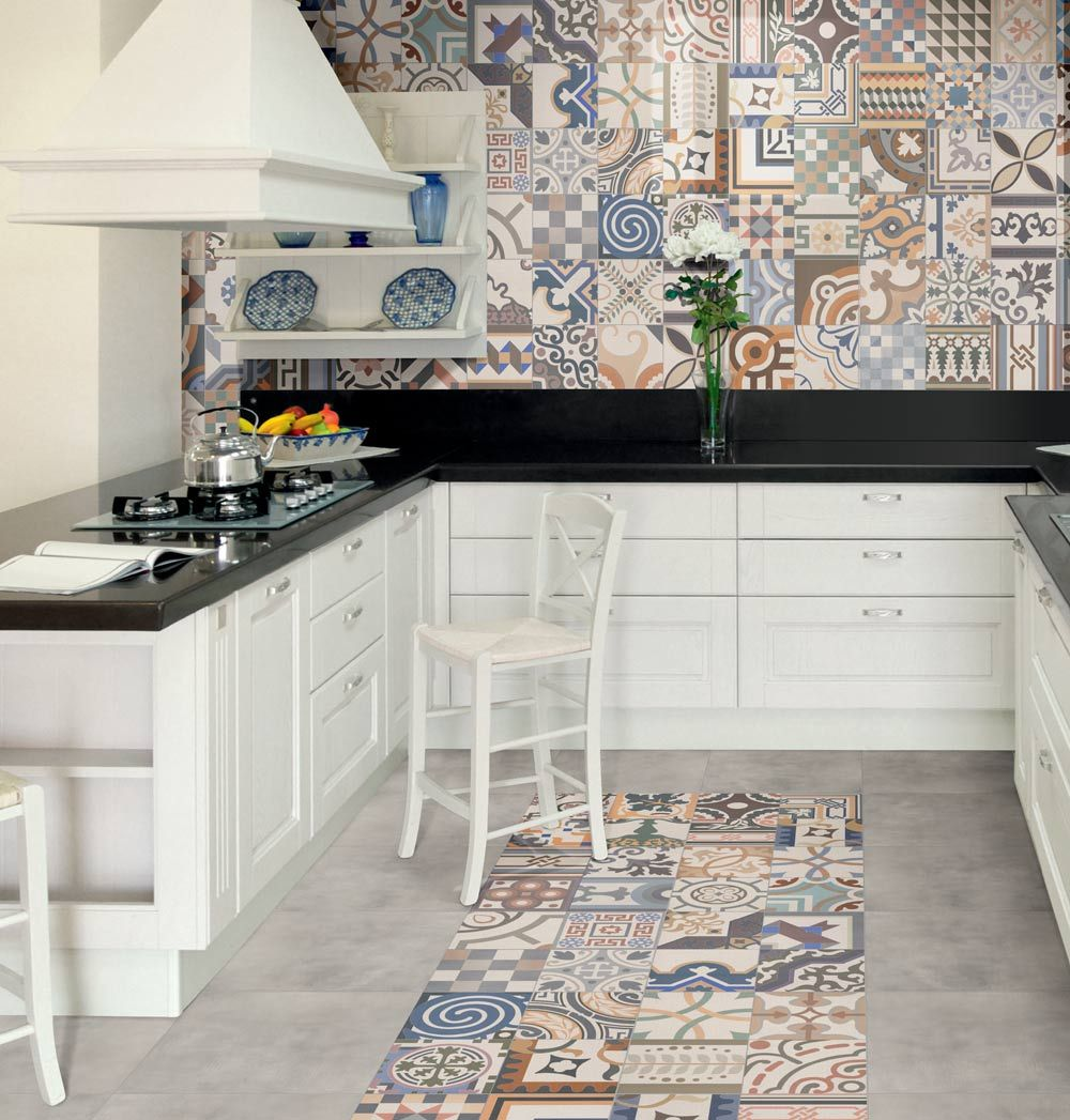moroccan tiles kitchen - Google Search | Kitchen | Pinterest