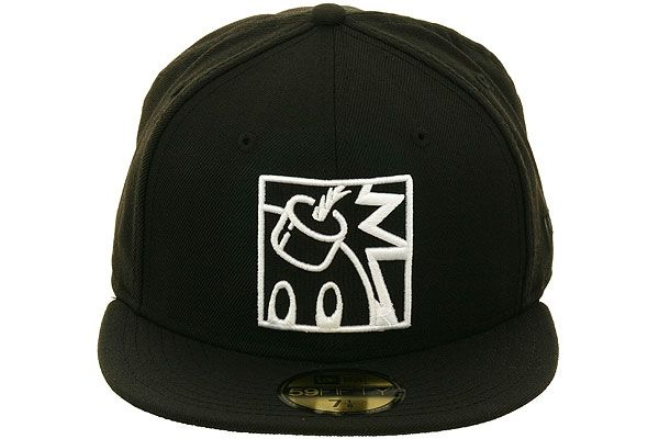 4ac21d0289c The Hundreds Square Adam Bomb Fitted Hat by New Era