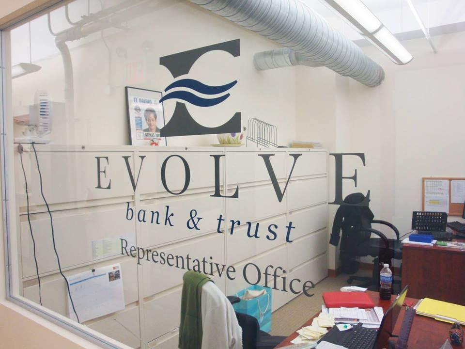 Nyc decals of signs visual inc makes custom die cut vinyl lettering and wall stenciling and stencils for window signage also frosted film etchmark logos in