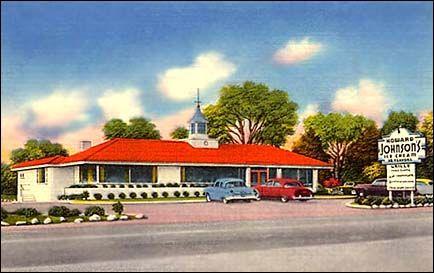 1950s Howard Johnsons Restaurant Rockingham Nc