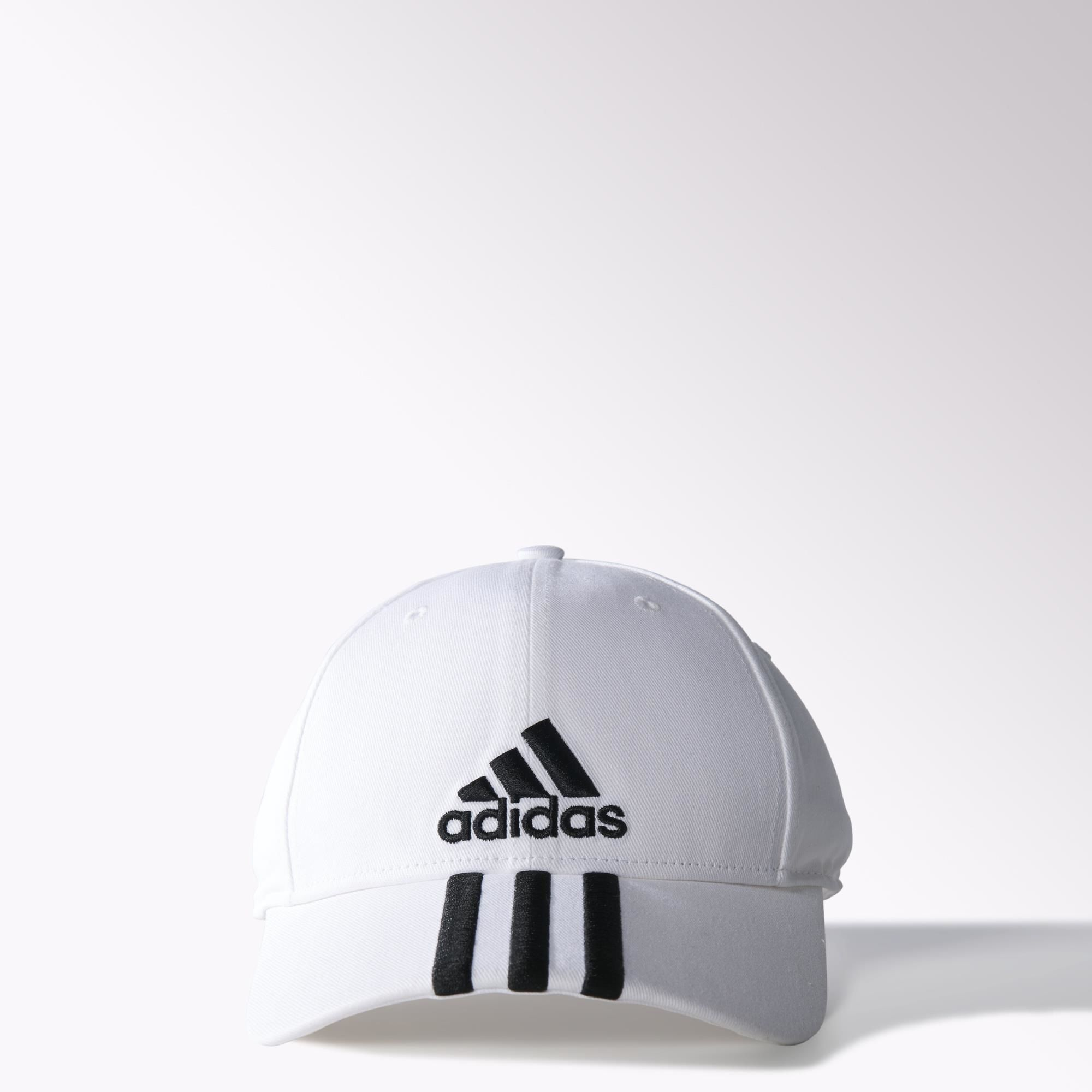 New  Adidas Originals White Classic Performance Baseball Cap - hat 4a7d8e3574