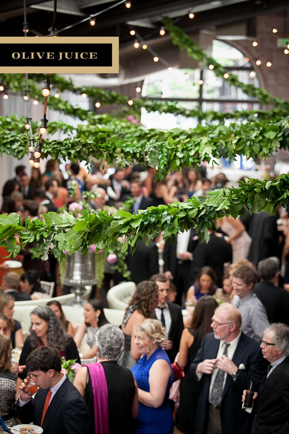 olive juice studios wedding reception in the winter garden the