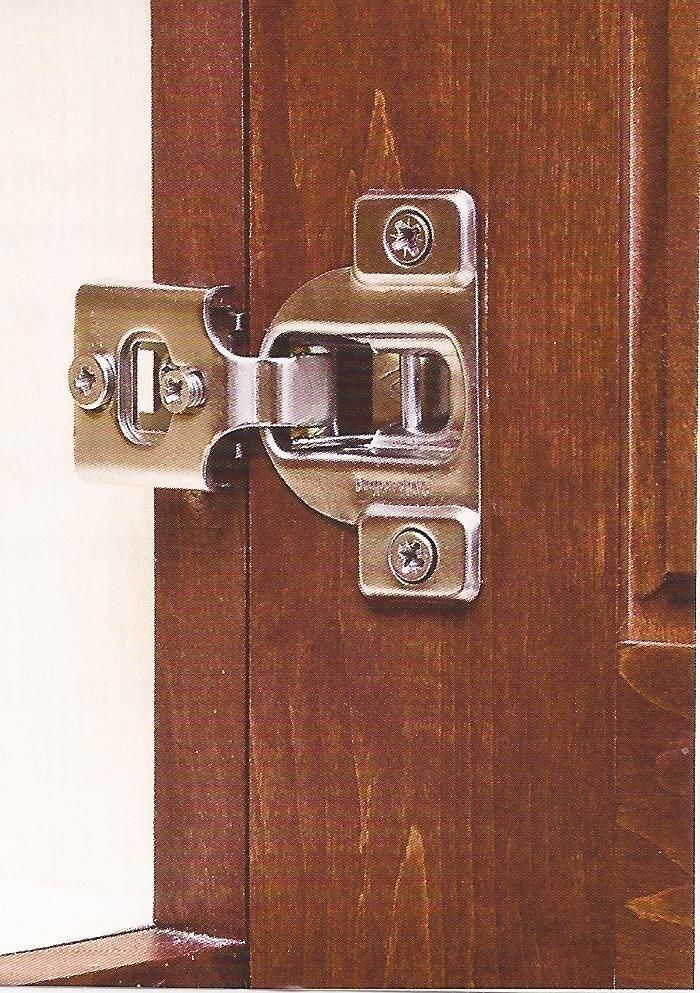 2 Pair 3 Way Adjustments 1 2 Overlay Concealed Cabinet Door Hinges 3390 Vitusbyhardwareresources Door Hinges Cabinet Doors Concealed Hinges