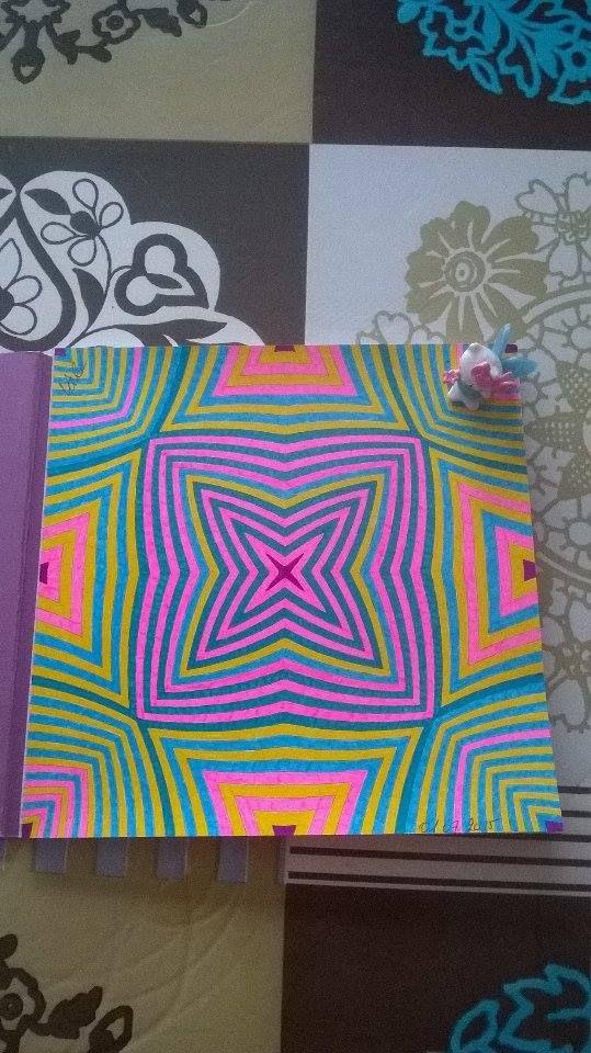 Coloriage Anti Stress Illusion Doptique.1er Colo Du Livre Illusions D Optique Le 01 07 2015 Art Sergine