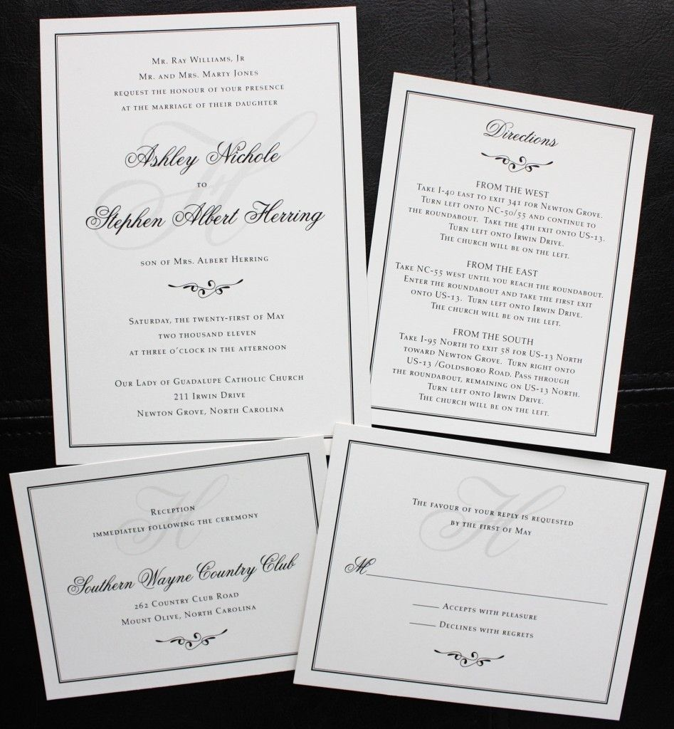 plain wedding invitations Check more image at http://bybrilliant.com ...