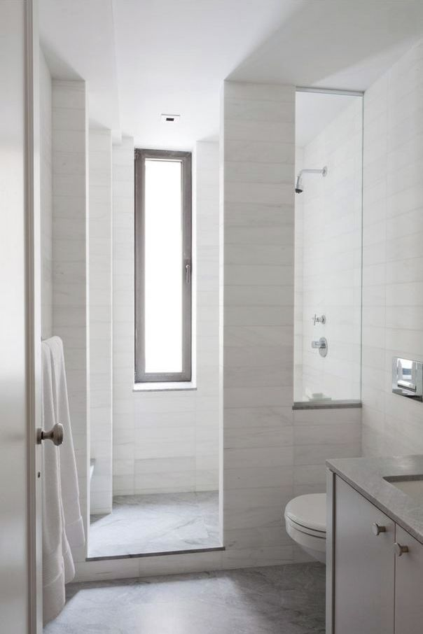 Note 2 Equally Sized Bathrooms On The Second Floor Each With Hall Access Too 5 X 8 Bathroom Bathroom Design Small Modern Bathroom Layout Window In Shower Small bathroom no window design