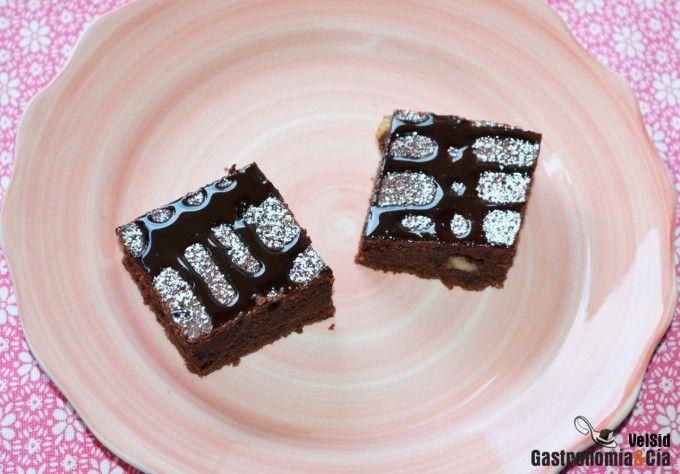 Cómo hacer un brownie en una sartén