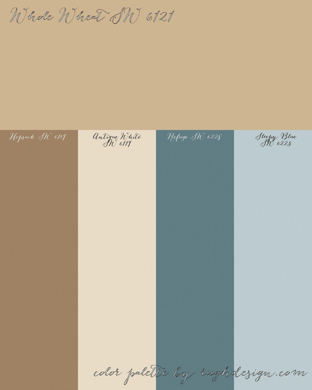 Whole Wheat Color Palette
