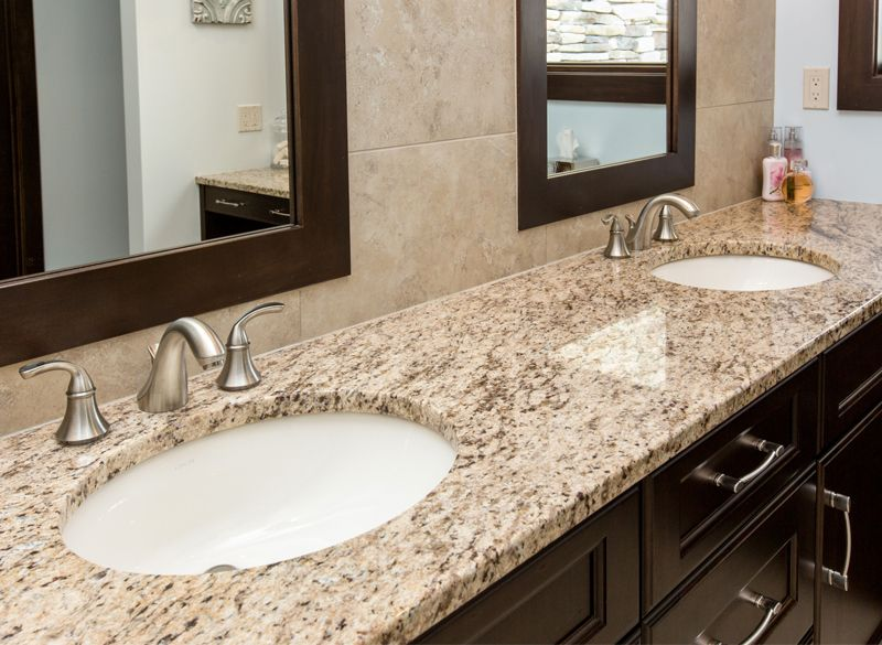 From Tan To Dark Brown Venetian Gold Granite Adds A