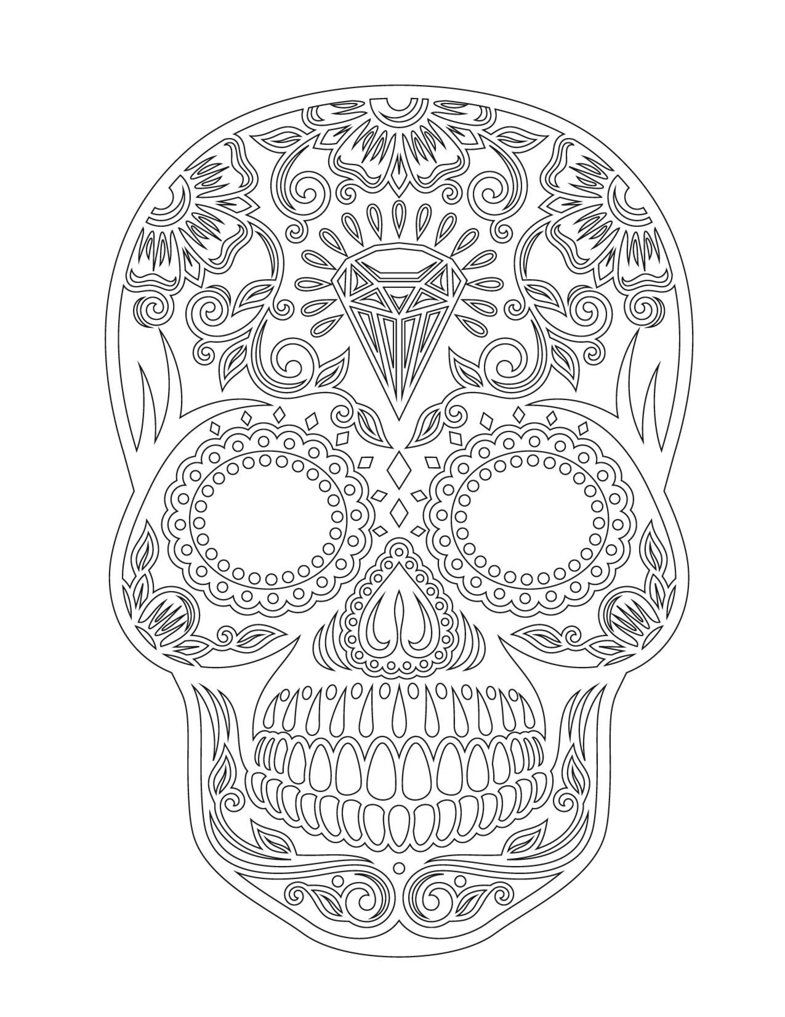 Pin de Małgorzata Kitka en Coloring pages to print - Skulls   Pinterest