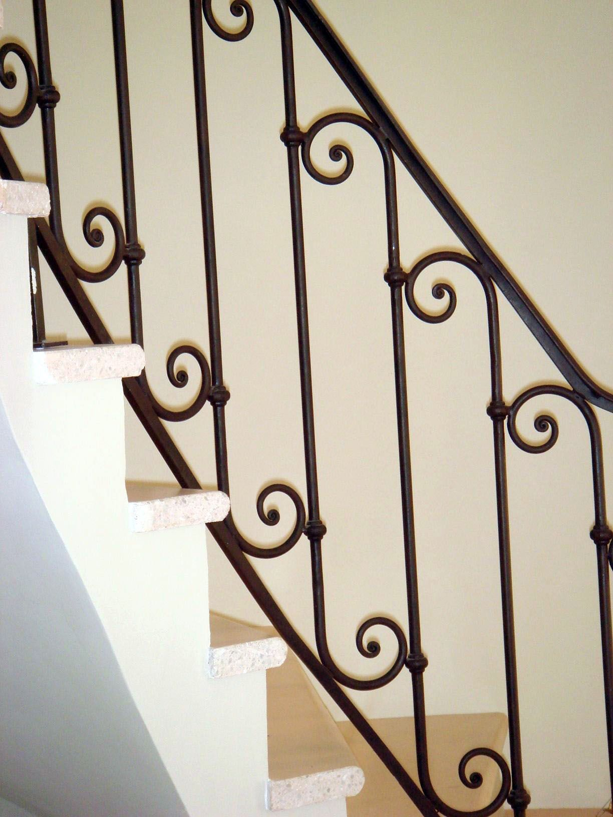 The Next Level 14 Stair Railings To Elevate Your Home Design Wrought Iron Staircase Indoor Stair Railing Stair Railing