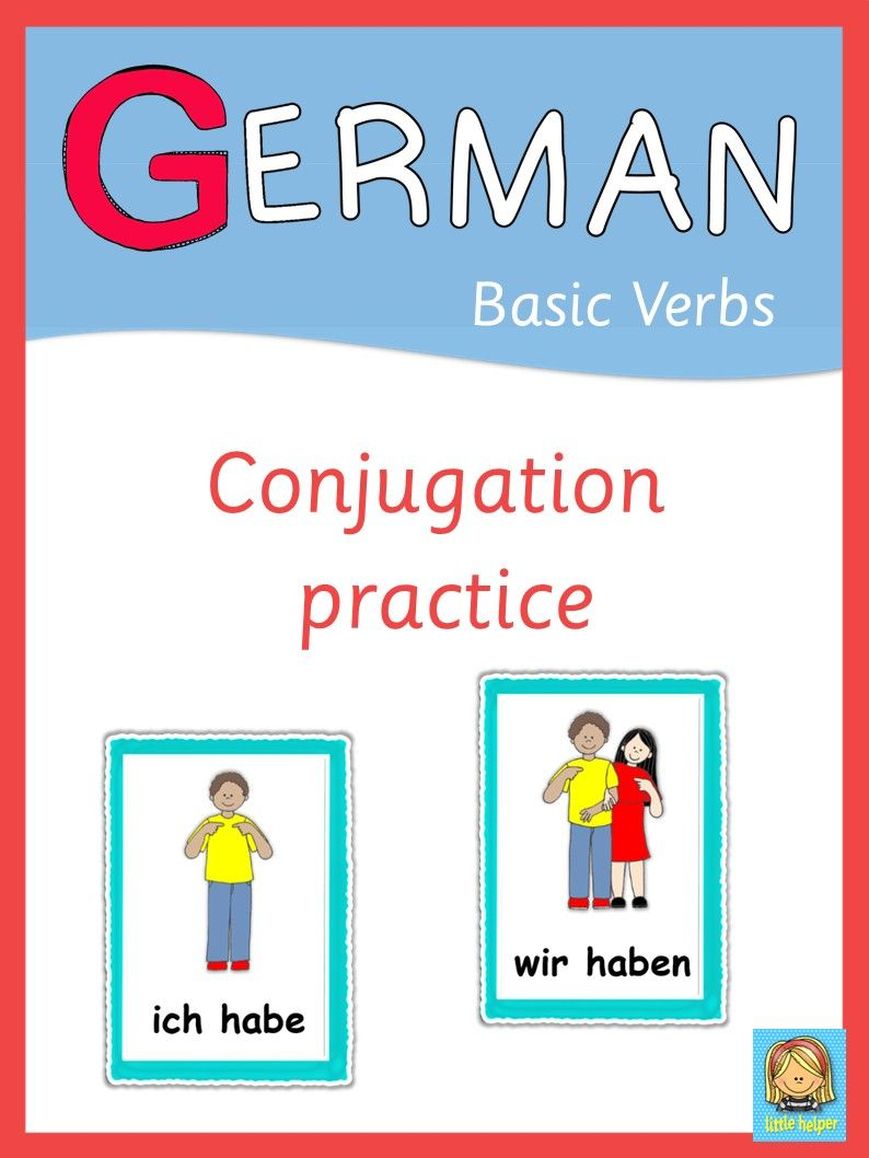 German Verbs - painless conjugation exercises for struggling learners.