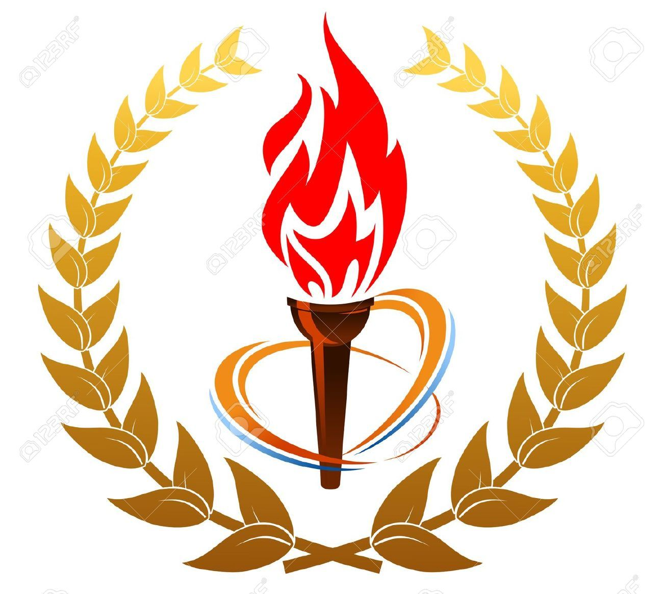 Fire Torch Cliparts Stock Vector And Royalty Free Fire