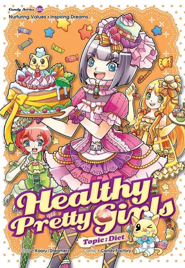 Gempakstarz Graphic Novel Candy Series Healthy Pretty